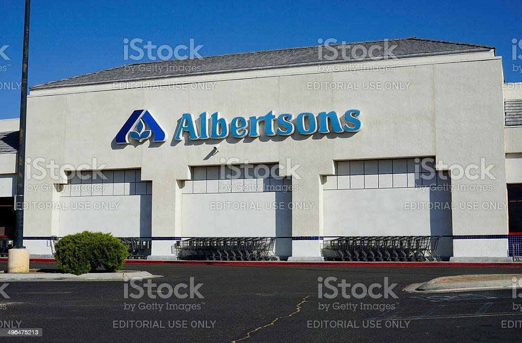 Albertsons royalty-free stock photo
