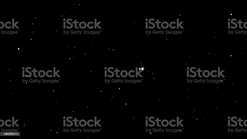 Albireo Star Beta Cygnus stock photo