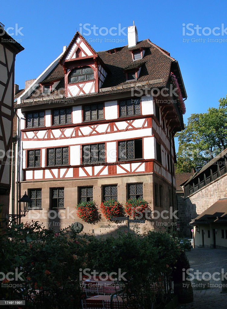 Albrecht-Duerer-Haus - old building royalty-free stock photo