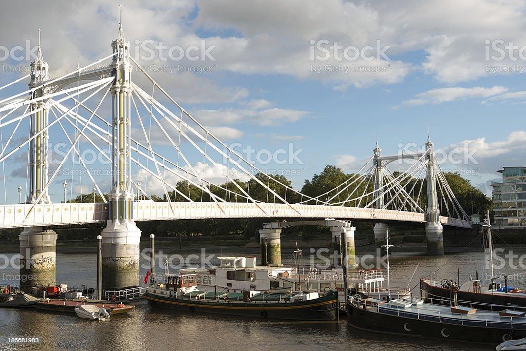 Albret  Bridge in London stock photo