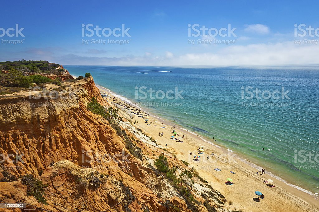 Albufeira, Algarve stock photo