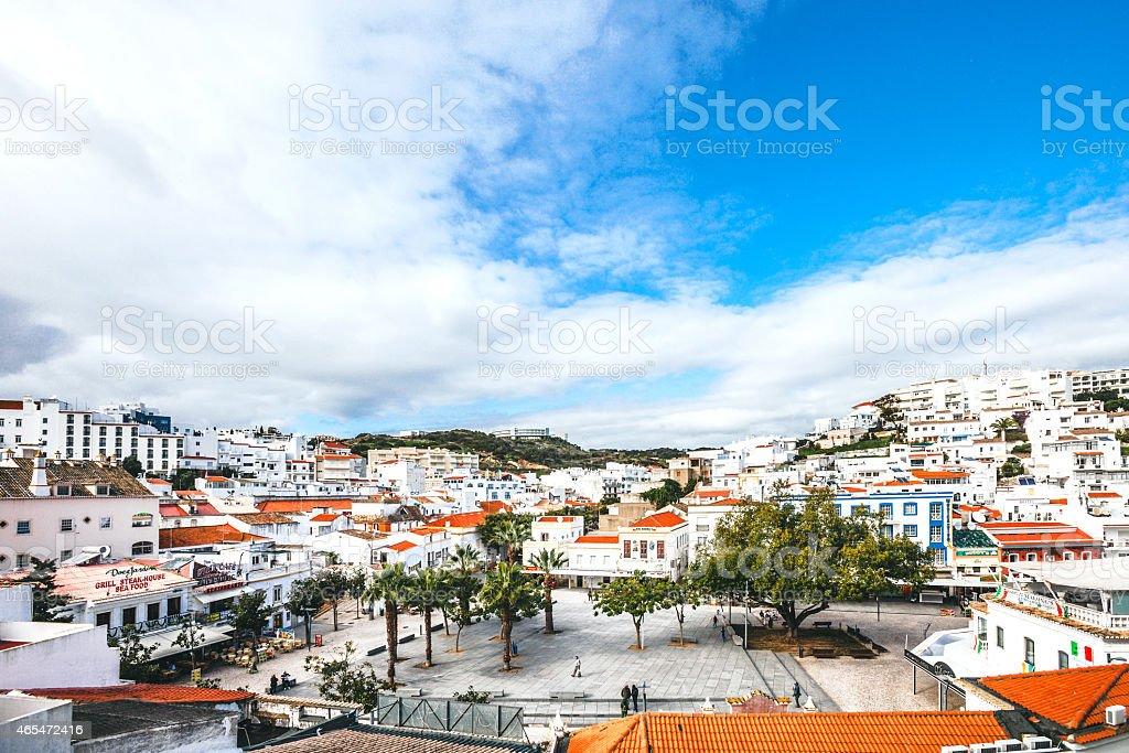 Albufeira, Algarve. stock photo