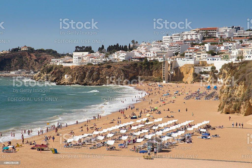 Albufeira, Algarve Portugal stock photo