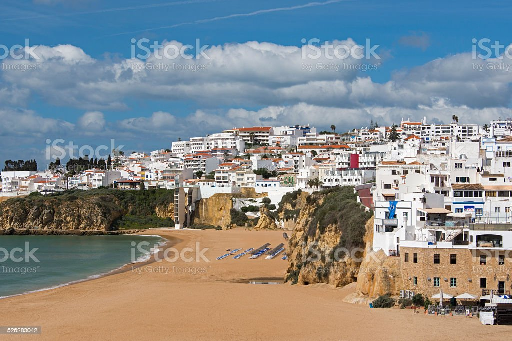 Albufeira stock photo