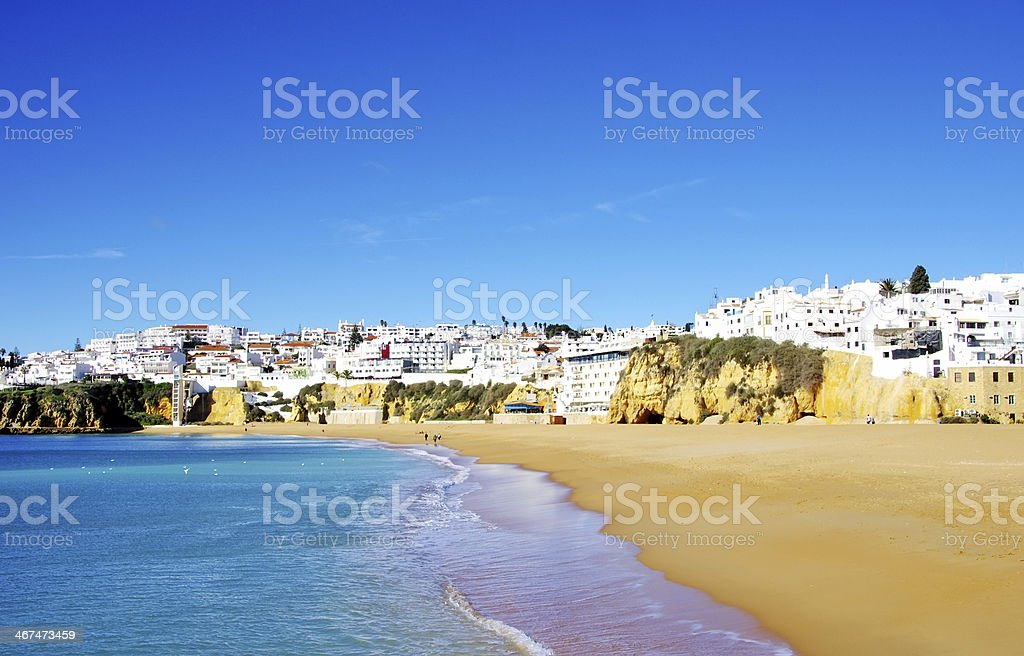 Albufeira,Algarve region, Portugal stock photo