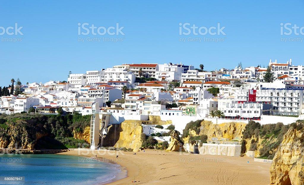 Albufeira,Algarve region, Portugal stock photo