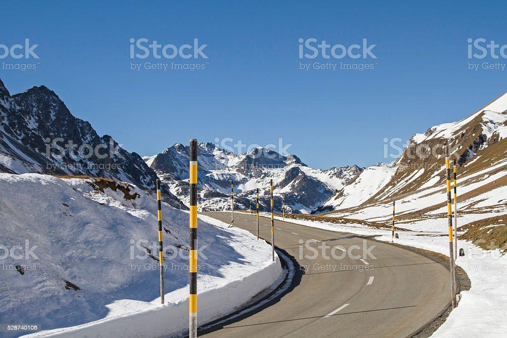 Albula pass stock photo