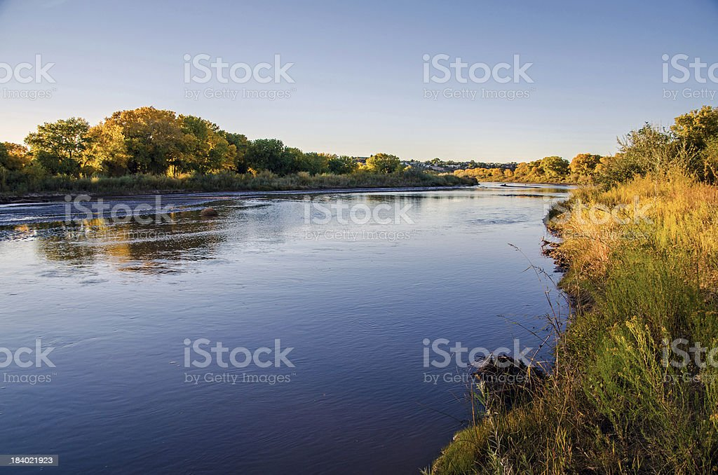 Albuquerque Bosque royalty-free stock photo