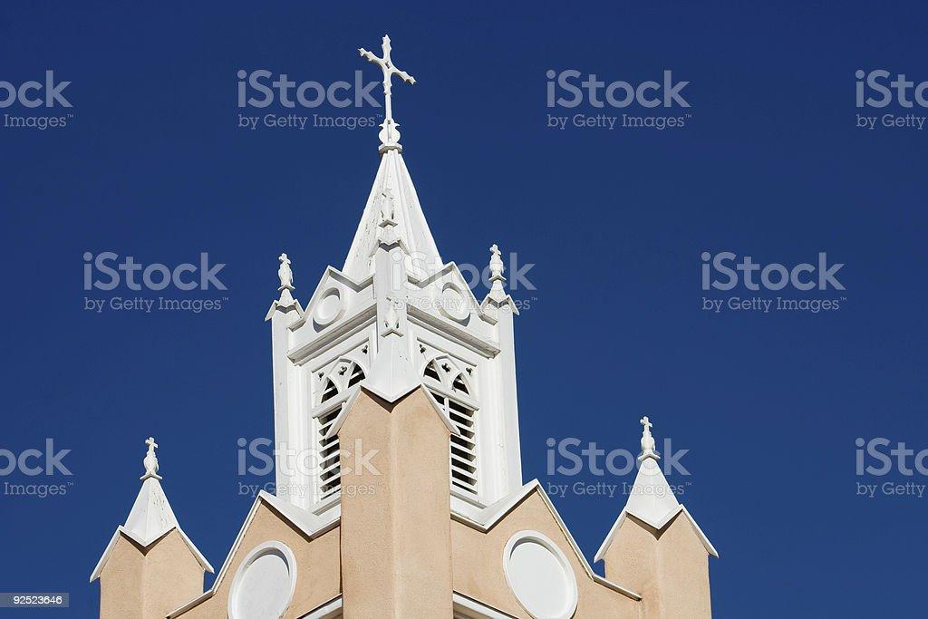 Albuquerque church 1 royalty-free stock photo