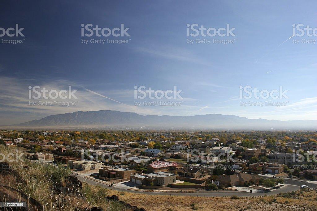 Albuquerque Haze royalty-free stock photo
