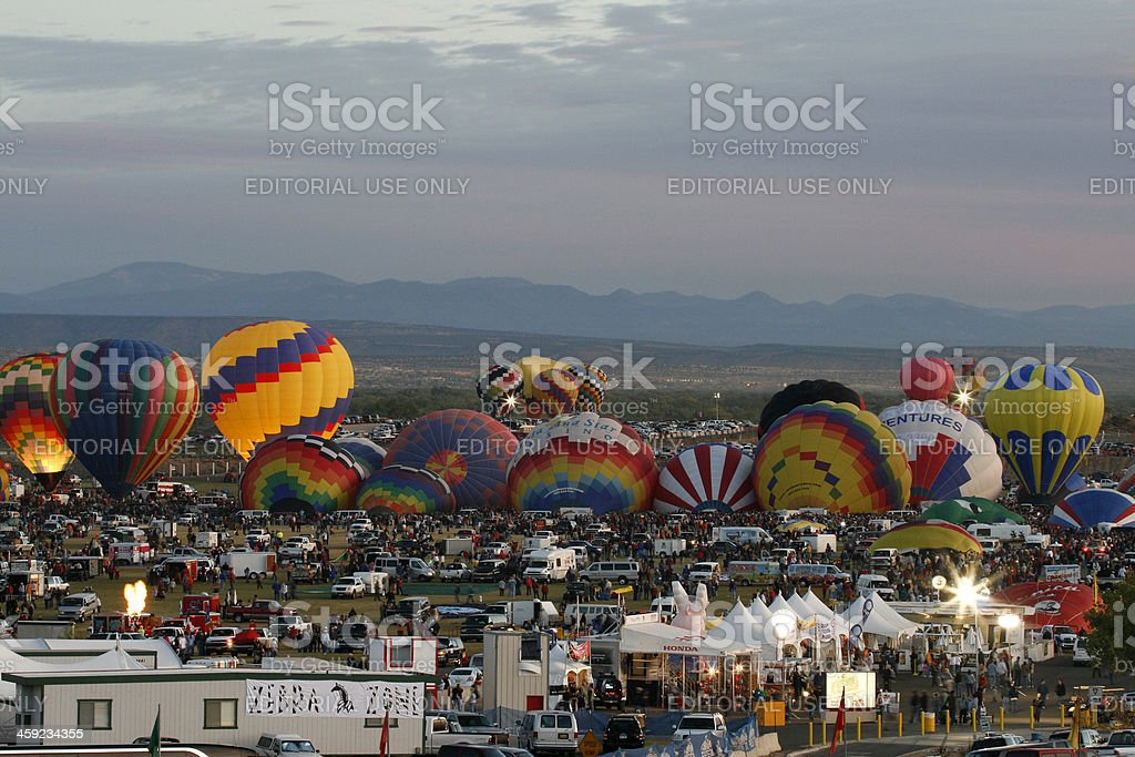 Albuquerque International Balloon Fiesta 2007 stock photo