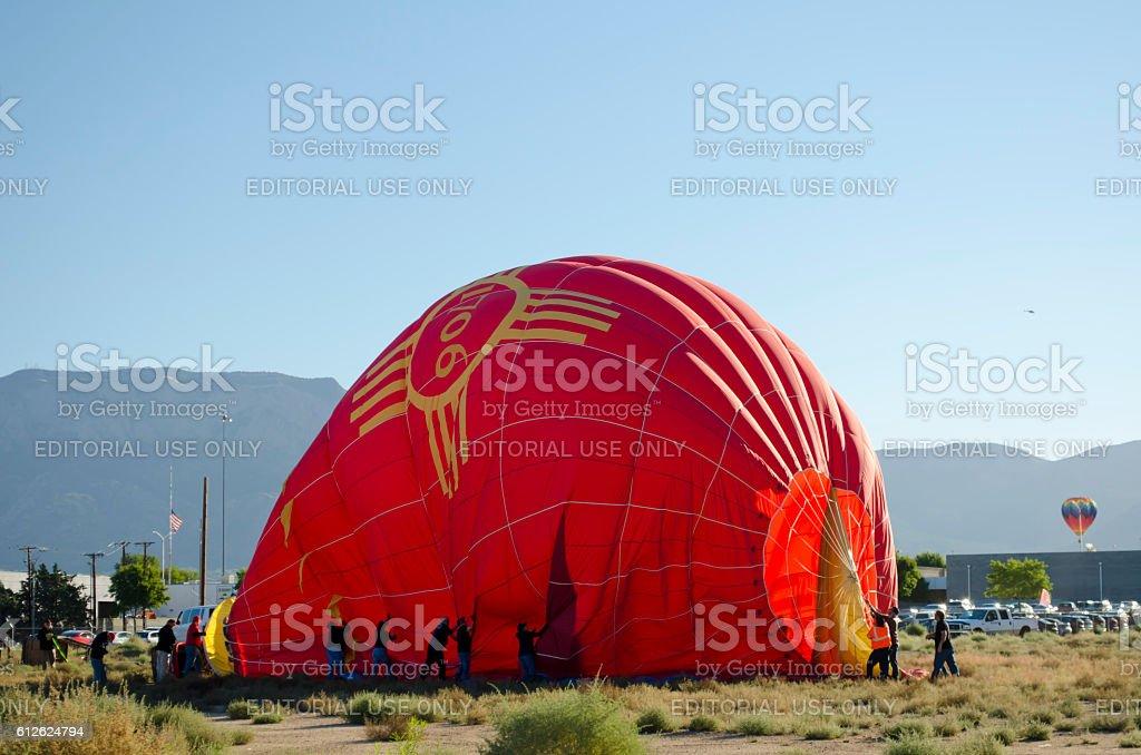 Albuquerque International Balloon Fiesta 2016 stock photo