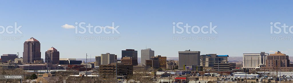 Albuquerque, New Mexico royalty-free stock photo