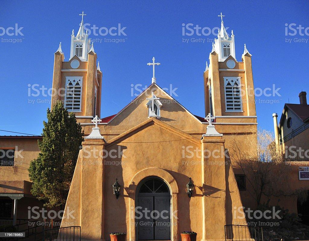 Albuquerque, NM, USA: Old City, church of Philip Neri royalty-free stock photo