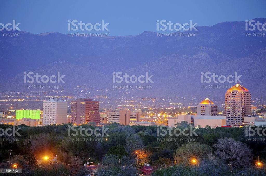 Albuquerque royalty-free stock photo