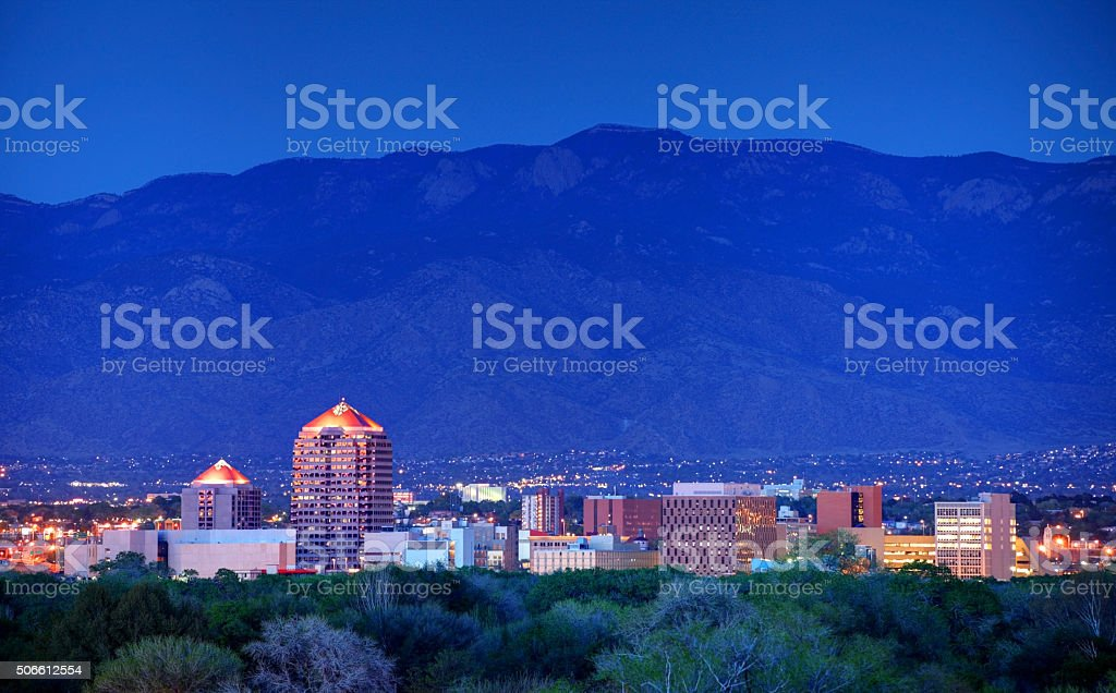 Albuquerque stock photo