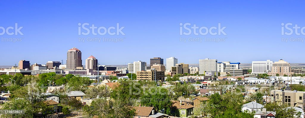 Albuquerque skyline stock photo