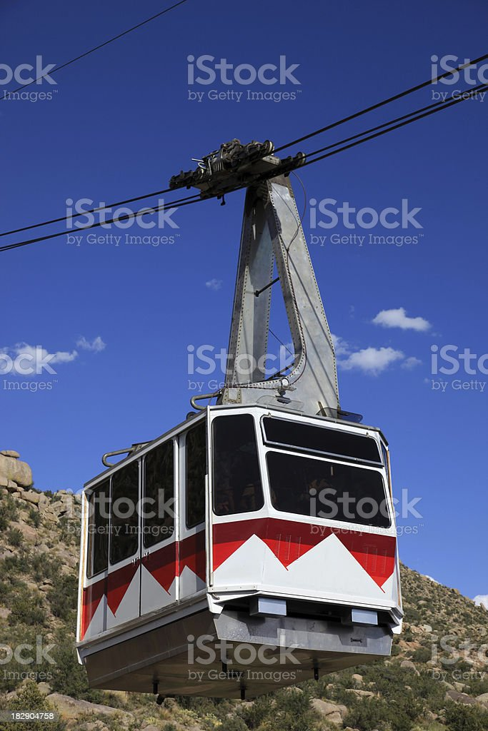 Albuquerque tram royalty-free stock photo