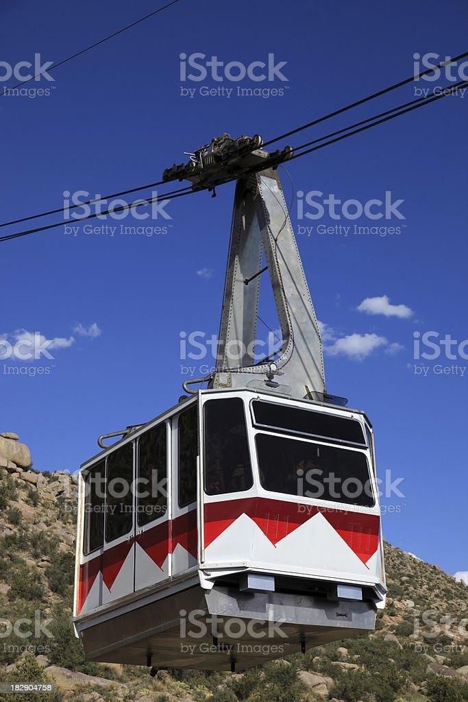 Albuquerque tram royalty-free stock photo