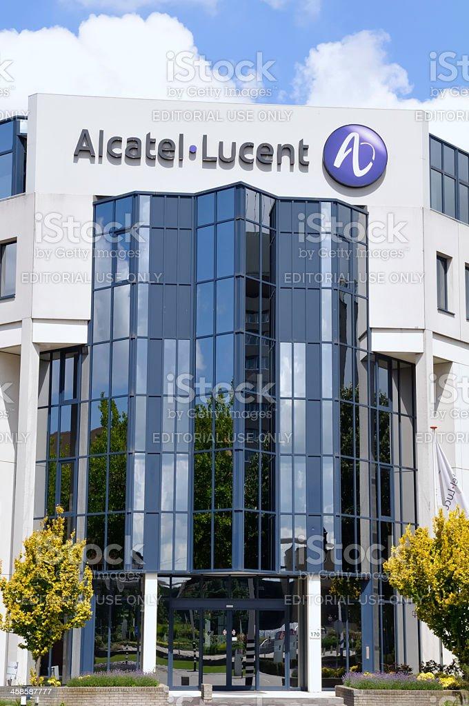 Alcatel - Lucent stock photo