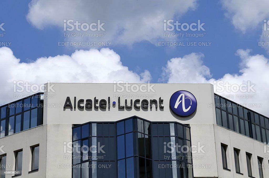 Alcatel - Lucent royalty-free stock photo