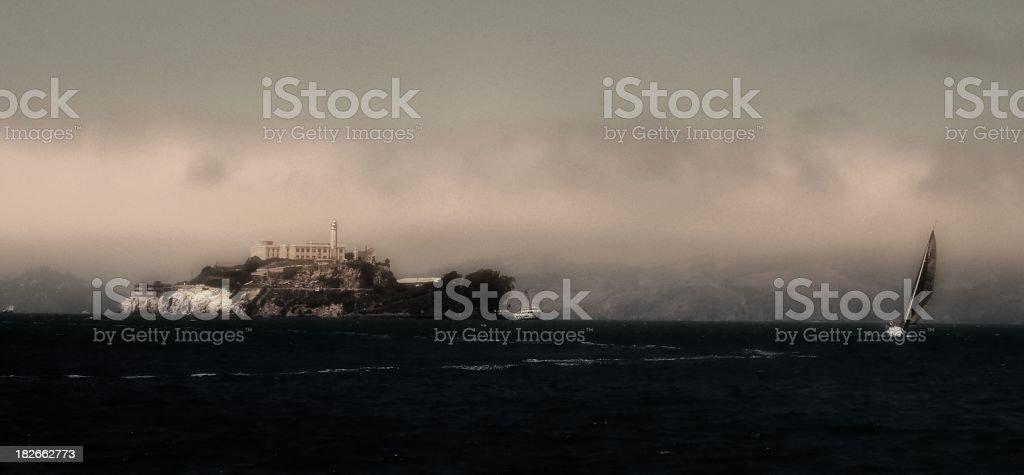 Alcatraz 2 stock photo