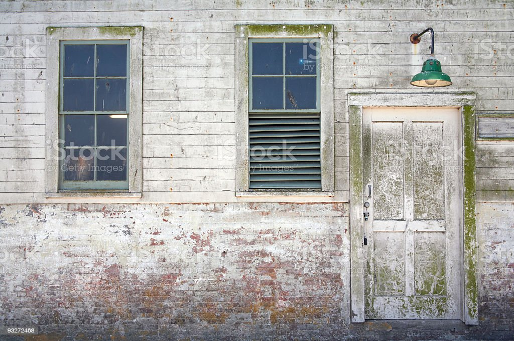 Alcatraz Door royalty-free stock photo