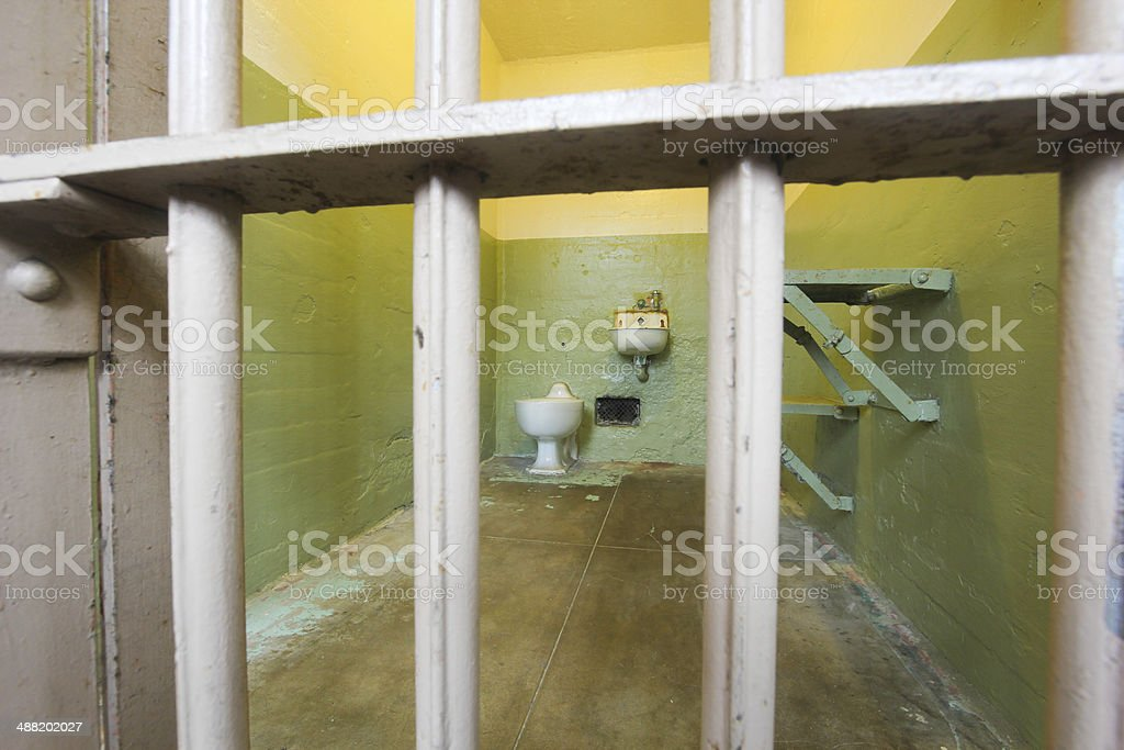 Alcatraz in San Francisco, California royalty-free stock photo