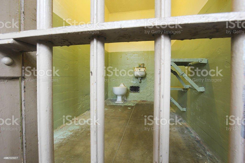 Alcatraz in San Francisco, California stock photo