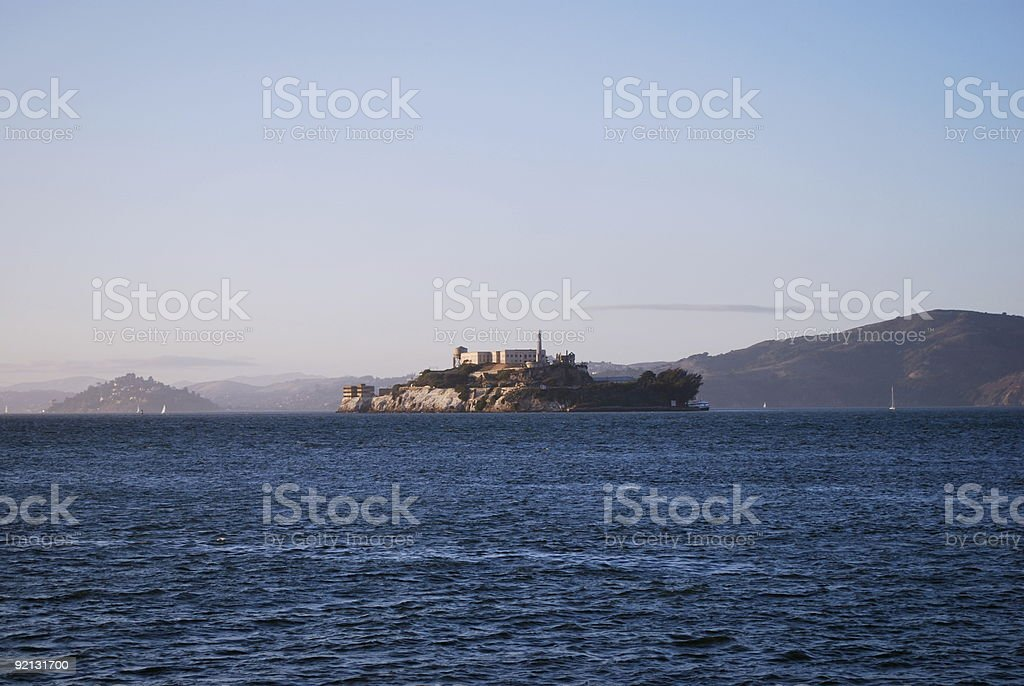 Alcatraz Isalnd stock photo