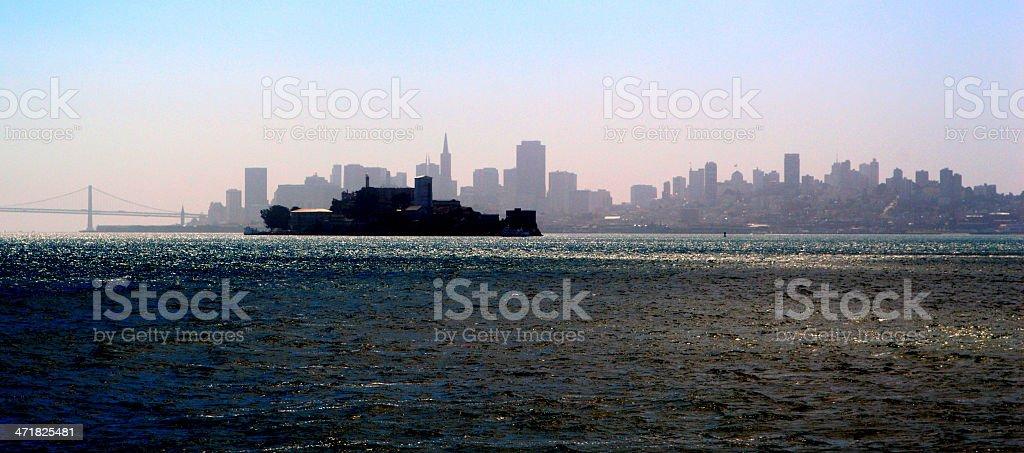 Alcatraz island royalty-free stock photo