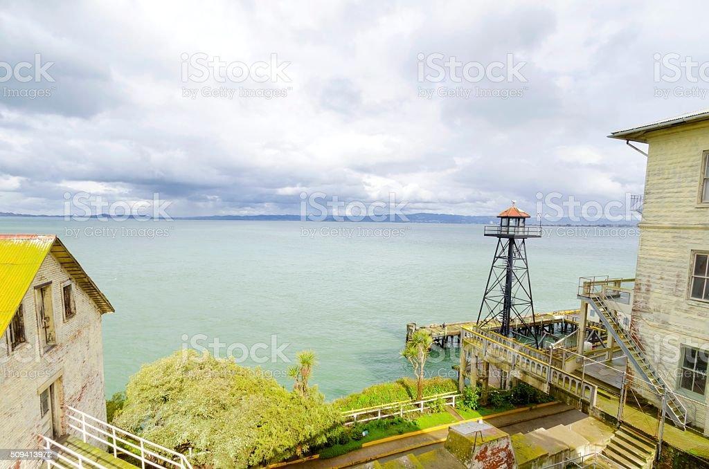 Alcatraz island, San Francisco, California stock photo