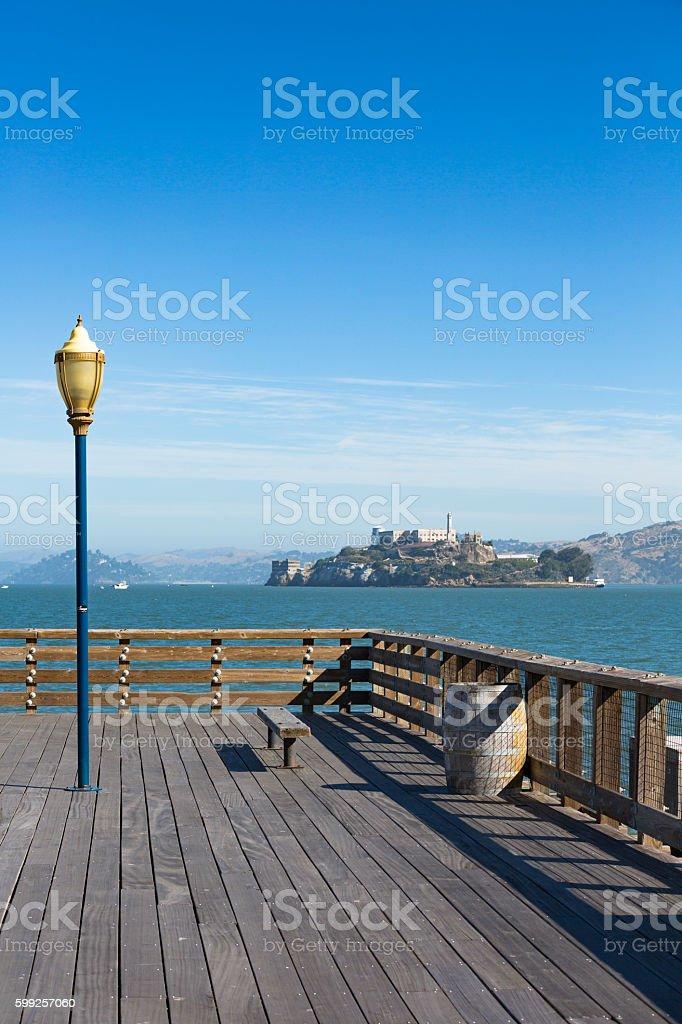 Alcatraz Island, San Francisco, California, USA stock photo
