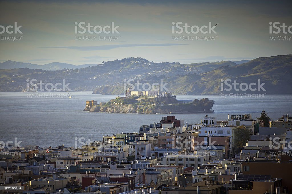 Alcatraz Island, San Francisco royalty-free stock photo