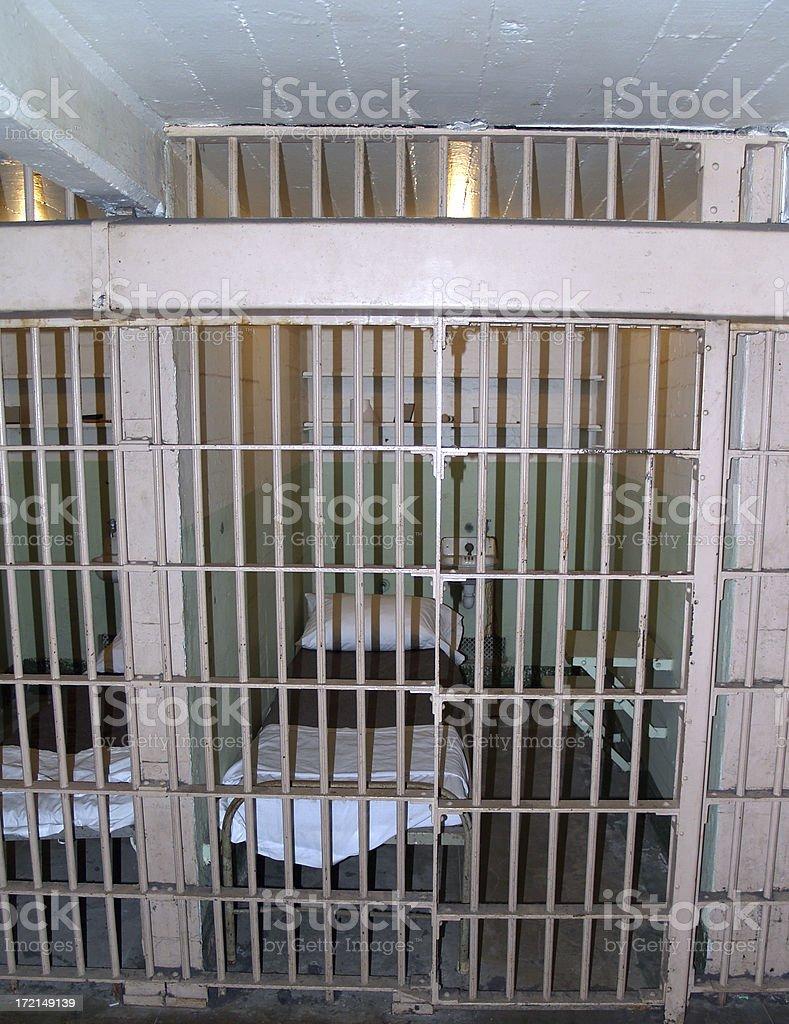 Alcatraz penitentiary royalty-free stock photo