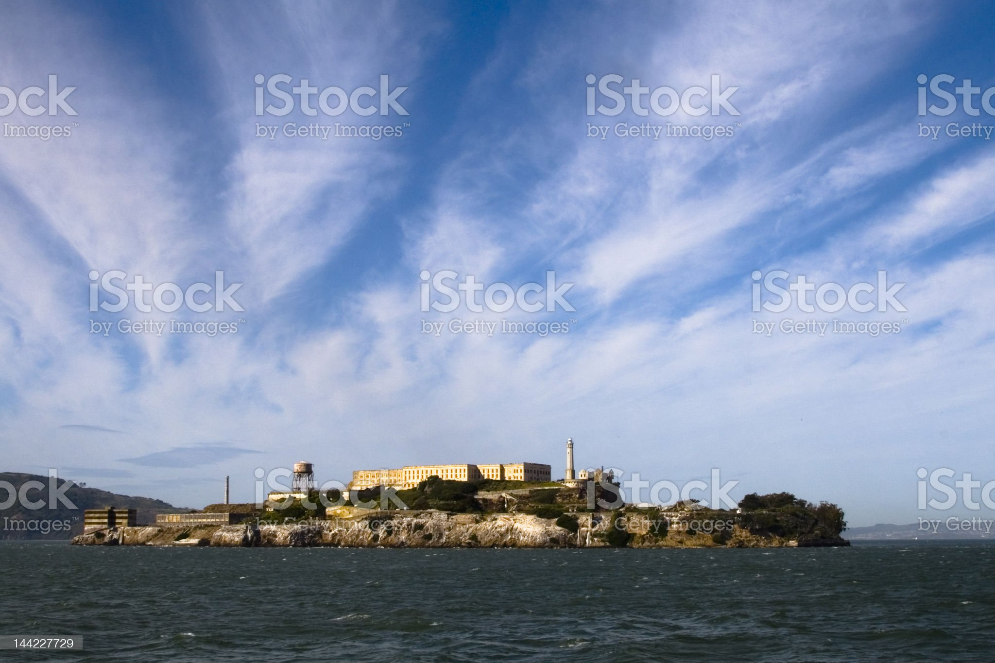 Alcatraz royalty-free stock photo
