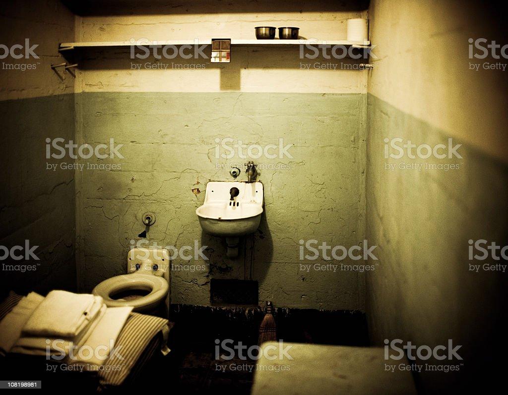 alcatraz prision stock photo