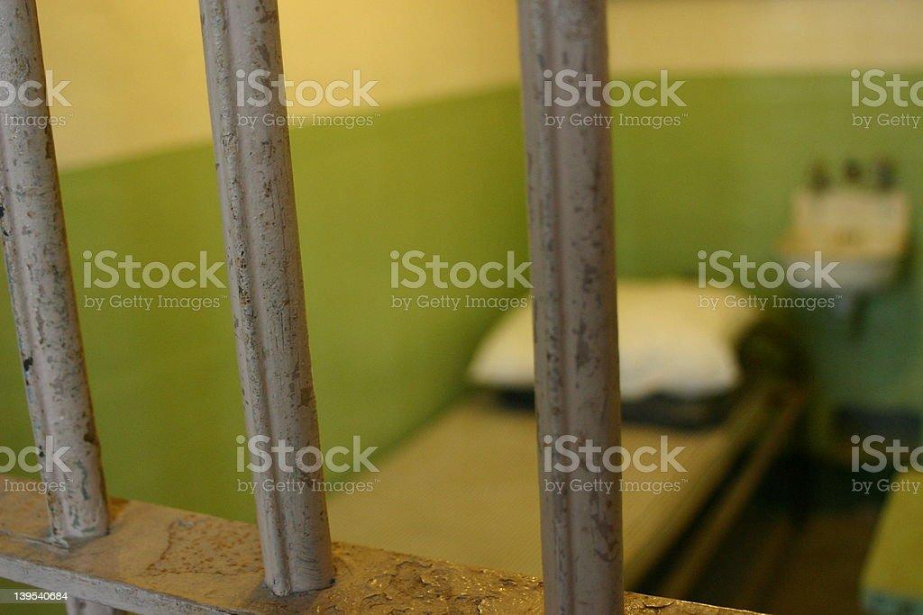 Alcatraz Prison Cell stock photo