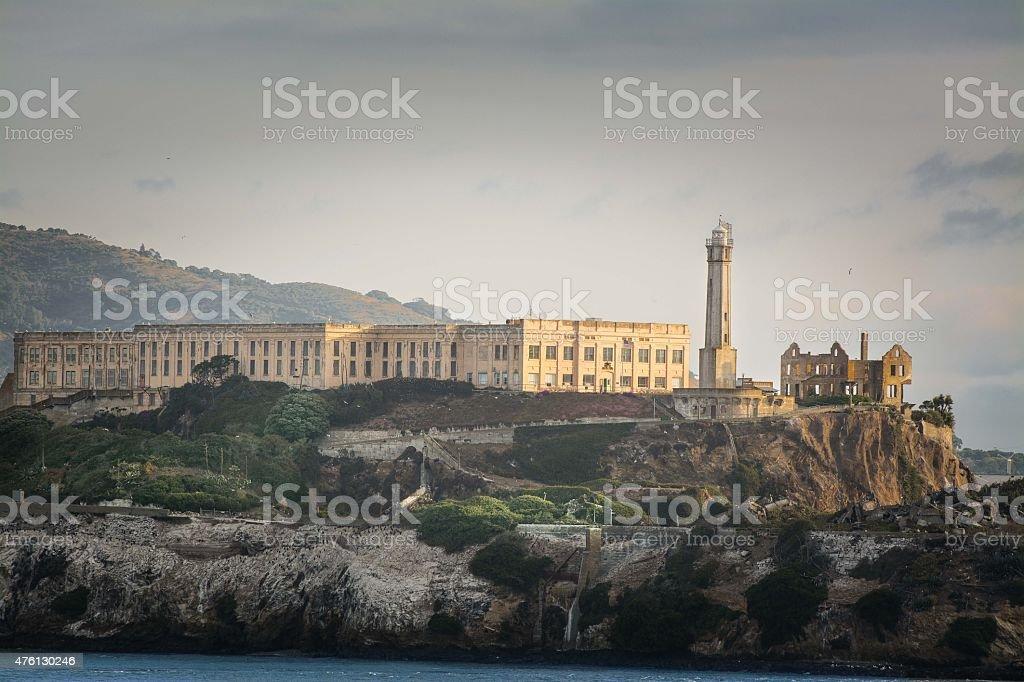 Alcatraz Prison stock photo