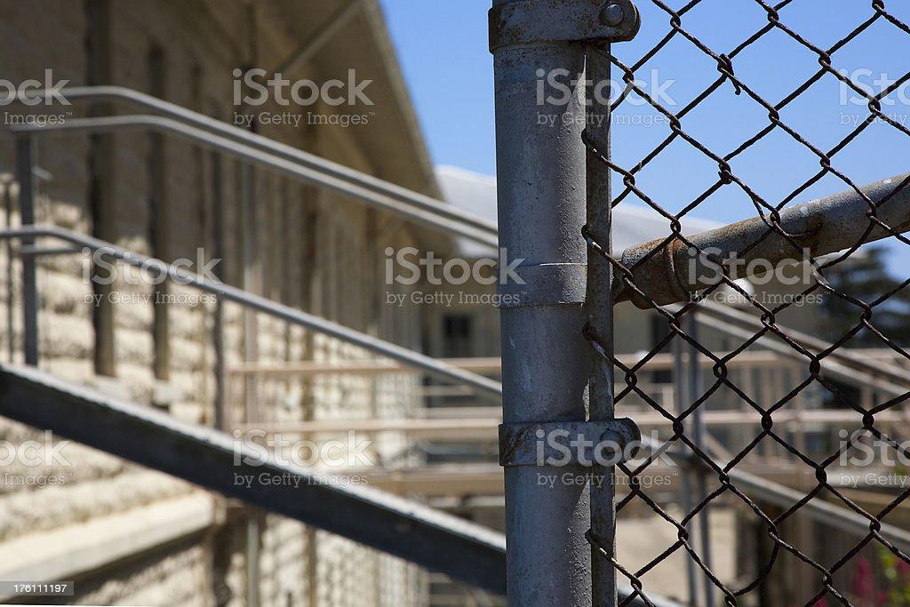 Alcatraz Ruins royalty-free stock photo
