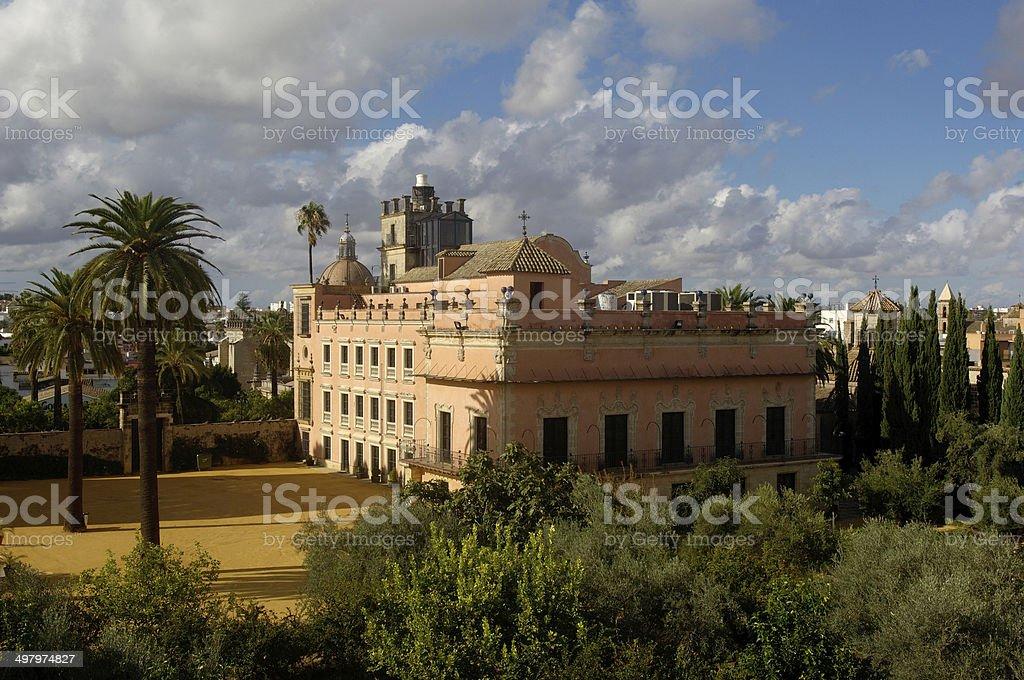 Alcazar, Jerez de la Frontera, Andalucia stock photo