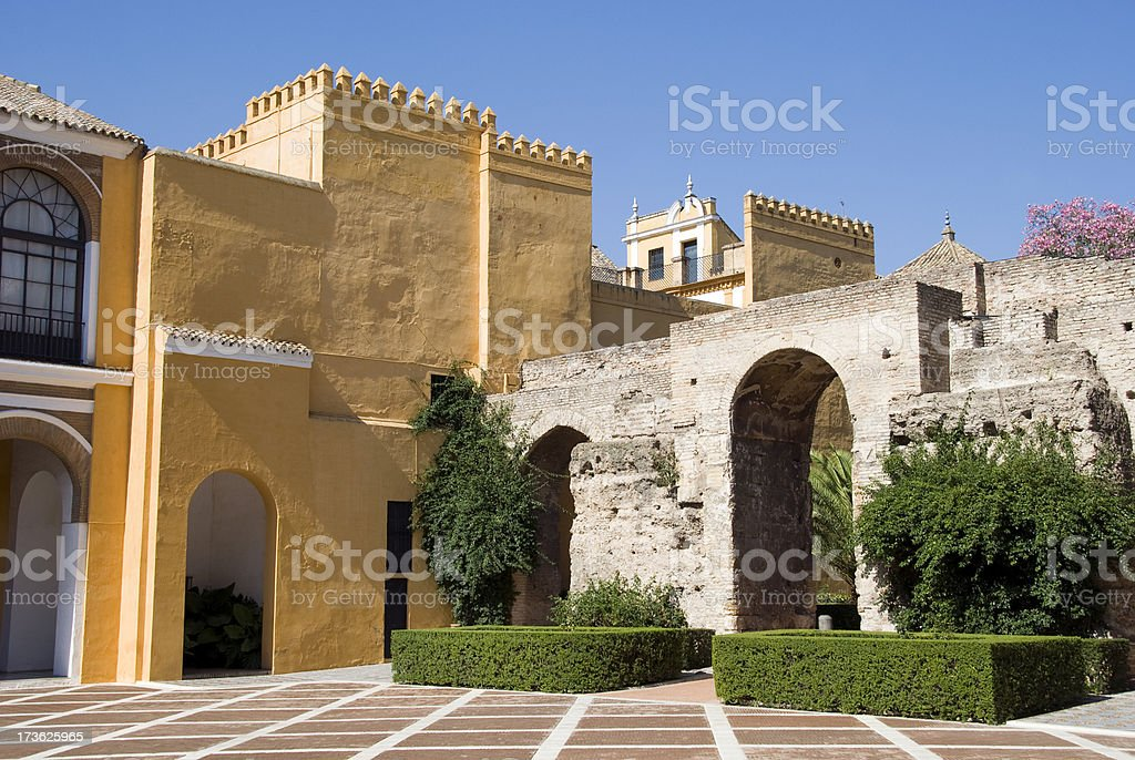 Alcazar Palace royalty-free stock photo