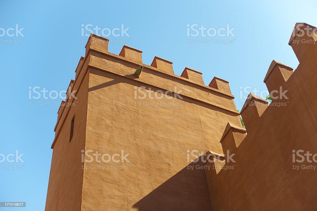 Alcazares Palace royalty-free stock photo