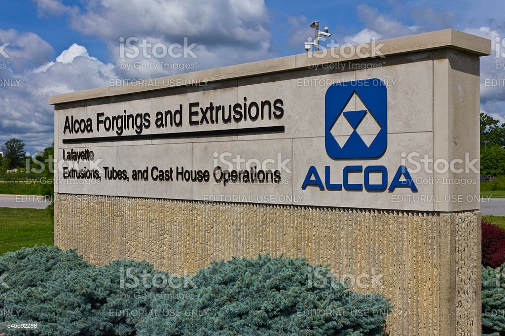 Alcoa Incorporated Forging and Extrusion Plant IV stock photo