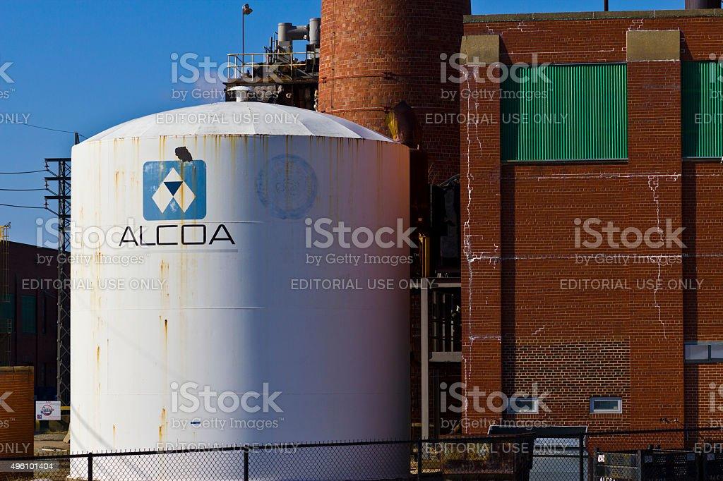Lafayette, IN - November 2015: Alcoa Incorporated Forging Plant stock photo