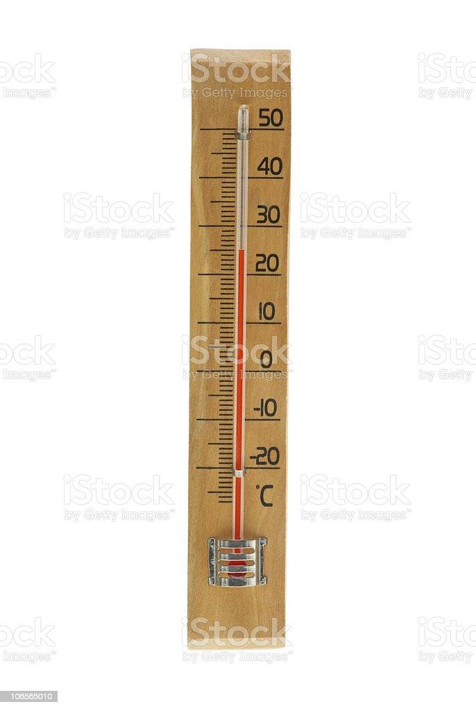 Álcool termómetro de ar foto de stock royalty-free
