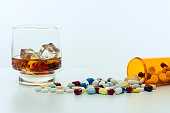 Alcohol and drugs.