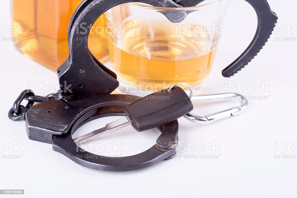 alcohol, car, keys = tragedy stock photo