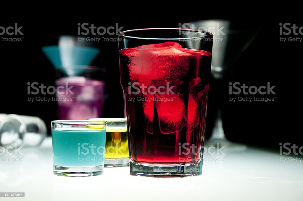 Alcohol Glass royalty-free stock photo