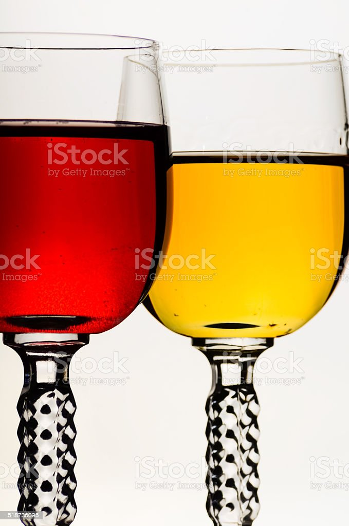 alcohol in a glass stock photo